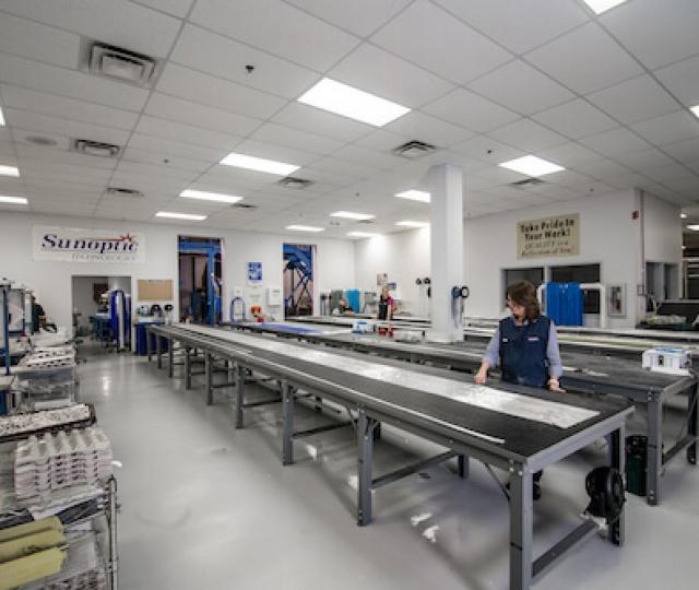 Sunoptic Surgical Factory Floor