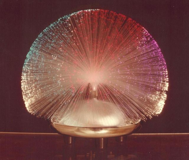 Fiber Optic Novelty Lamp from 1979
