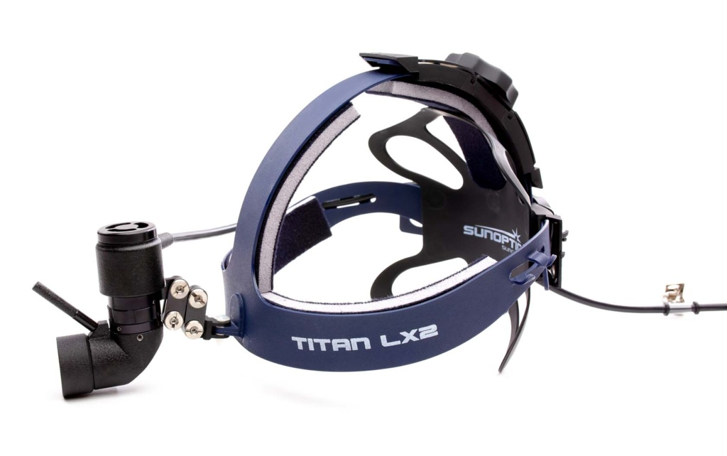 The Gold Standard in LED Surgical Headlights: The Titan LX2 is one of highest quality light sources